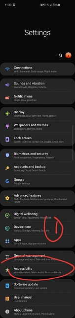 How do i disable the white dot that follows me around on screen on Samsung s10-20190418_234056.jpg