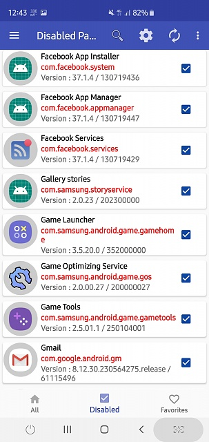 Package Disabler Disabled Apps - Android Forums at