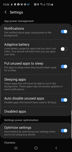Why are my Gmail notifications no longer working on Galaxy S10?-screenshot_20190608-105615_device-care.jpg