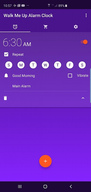 Wake Me Up Alarm Clock No Longer Works With New S10+ - Android