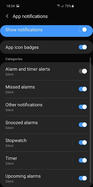 alarm clock icon missing from status bar, any help? - Android Forums