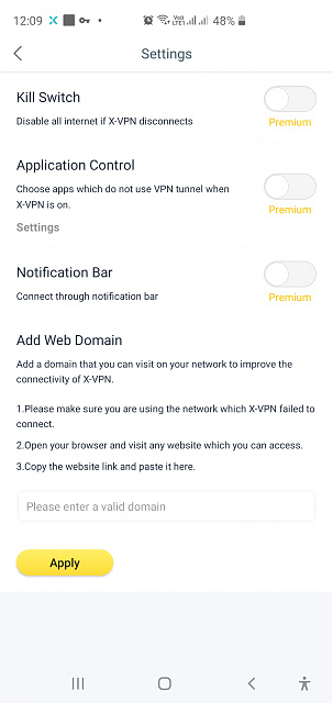 VPN connects fine on 4G but will not connect on Wifi on my Galaxy S10+ phone-screenshot_20200218-000908_x-vpn.jpg
