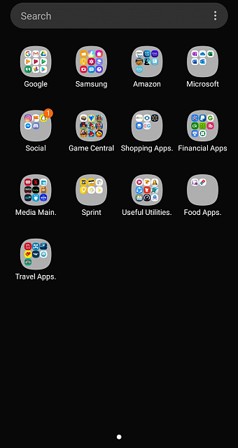Is there a setting to arrange S20 Ultra App Drawer to scroll Vertically?-20200708_223311.jpg