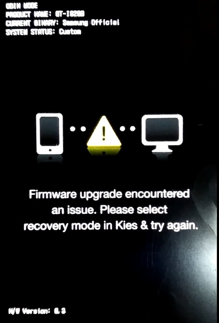 "Help with message ""firmware upgrade encountered an issue"" with I8200-sin-t-tulo.jpg"