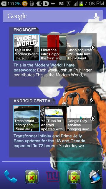 Best News reader Widget? - Android Forums at AndroidCentral com