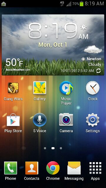 Weather widget - Android Forums at AndroidCentral com