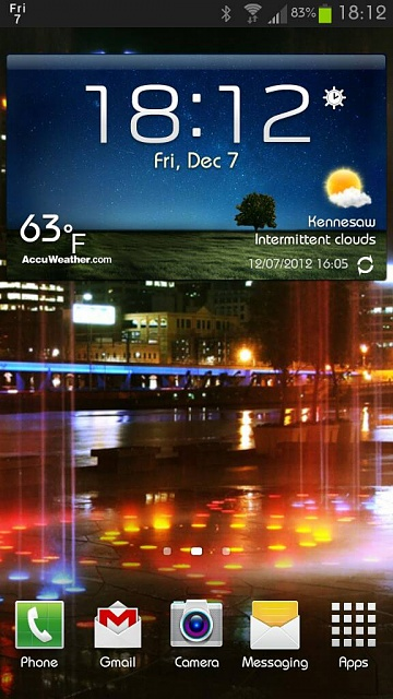 Home screens... Let's see what you got.-evening.jpg