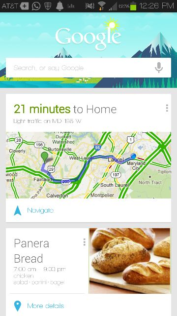 Am I the only one who's not in love with Google now?-uploadfromtaptalk1355951358857.jpg