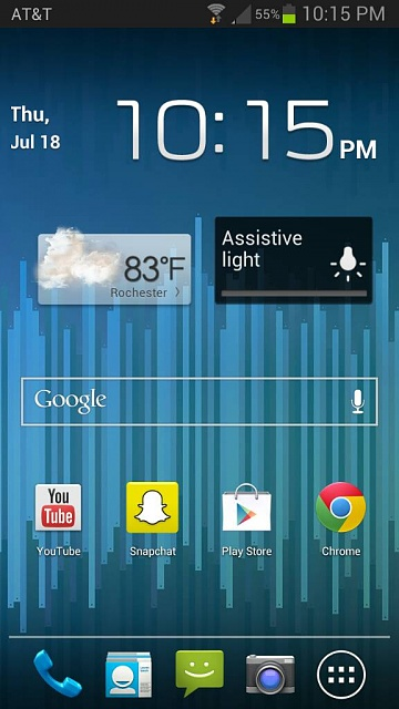 Home screens... Let's see what you got.-1374200260005.jpg