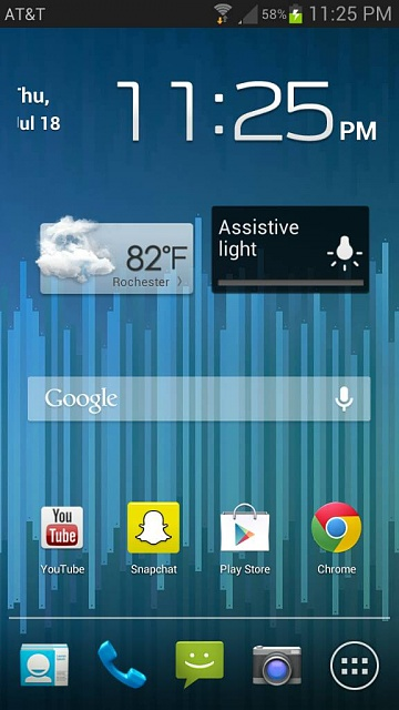 Home screens... Let's see what you got.-1374204382198.jpg