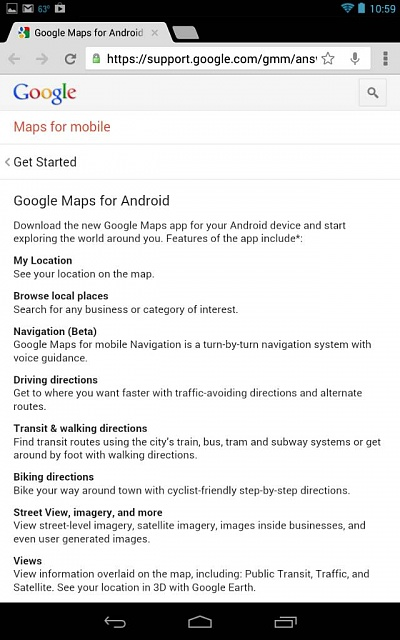 Navigation App missing after Google Maps Update-uploadfromtaptalk1375250578451.jpg