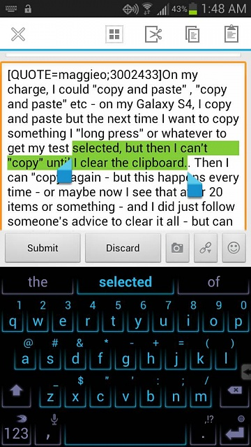 Any Way To Clear Contents Of Clipboard Android Forums
