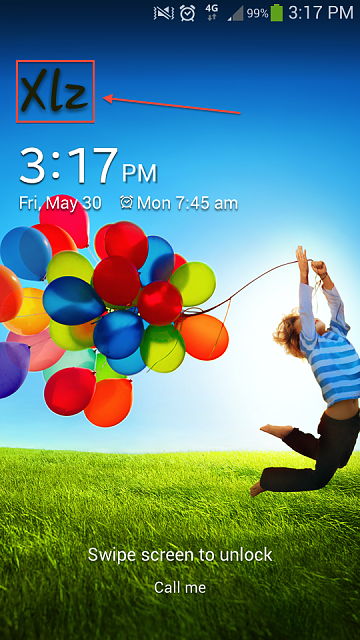 "Homescreen (locked screen) says ""Xlz"". What does this mean?-screenshot_2014-05-30-15-17-33.png"
