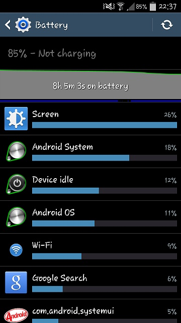 New Here. Galaxy S4 Battery Drain since 4.4.2 Update KitKat GlanceViewMK-2014-04-27-21.37.17.jpg