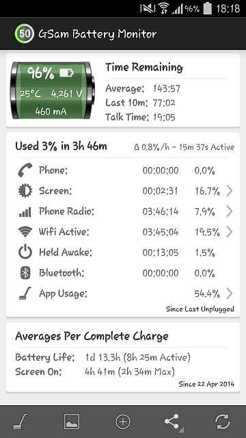New Here. Galaxy S4 Battery Drain since 4.4.2 Update KitKat GlanceViewMK-2014-04-27-17.18.36.jpg