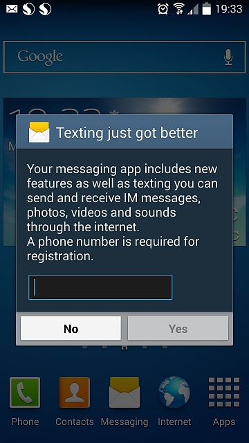 """Texting just got better"" in Notifications every day !-2014-09-08-18.33.53.jpg"