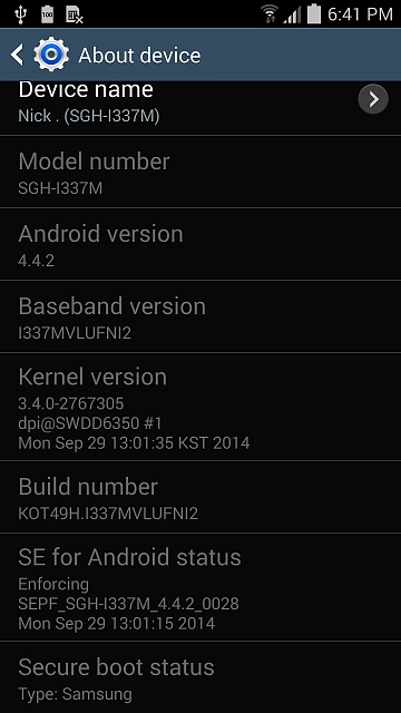 Why doesn't my Galaxy S4 want to return to default instead of custom status?-screenshot_2015-07-19-18-41-03.jpg