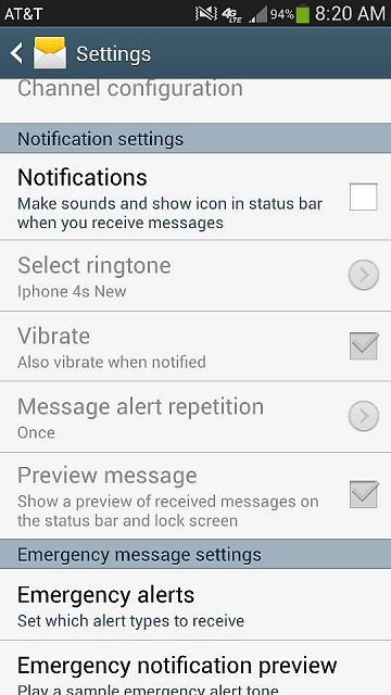samsung how to show notifications on lock screen