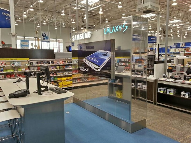 Wow. Best Buy has an entire section of the store devoted to Samsung Galaxy Products-uploadfromtaptalk1369452277877.jpg
