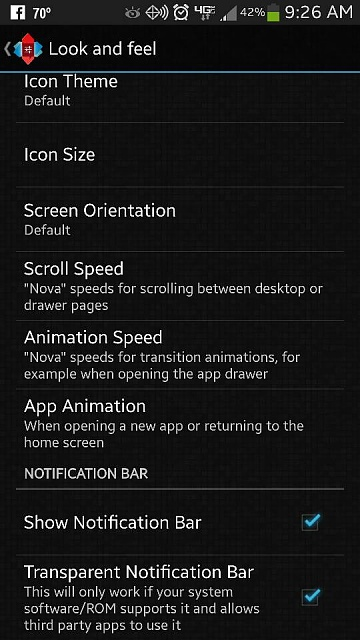 Which launcher has the transparency adjustment setting for the notif bar?-uploadfromtaptalk1370701660839.jpg