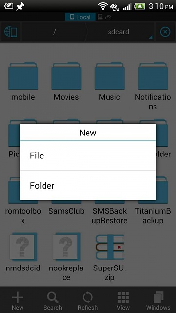 How to create folders in sd card? - Android Forums at