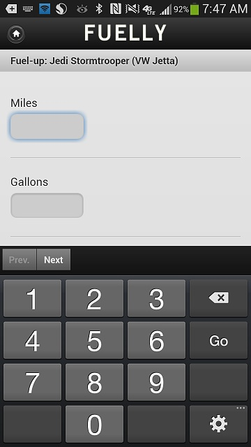 Android webView: Is possible to set numbers keyboard first by