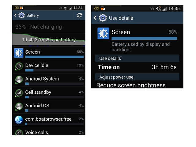 samsung galaxy s  battery life problems