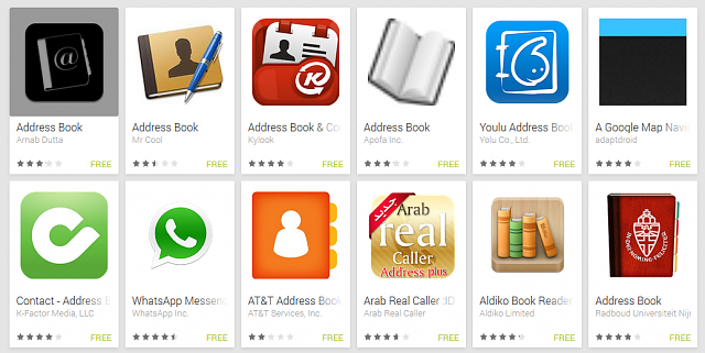 Basic Address Book App Android Forums At Androidcentral Com