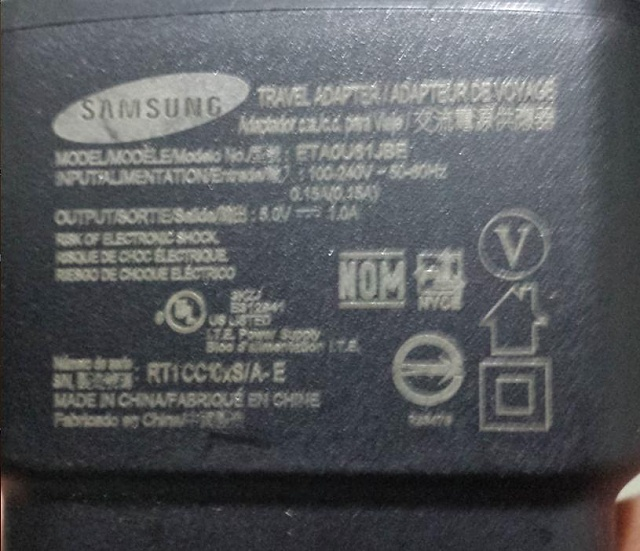 Galaxy S4 will not charge with original Travel Adapter and USB cable-battery_pic.jpg