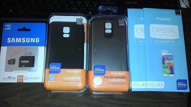 What accessories have you purchased for the Galaxy S5?-casesandstuff.jpg