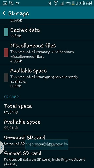 How can I free up space on my S5 Active?-1427954987300.jpg