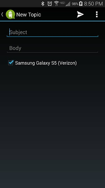 Why does LTE notification stay on while on Wifi (Verizon)? - Android