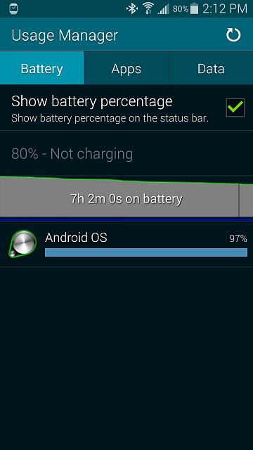 Galaxy S5 Weird Battery Usage Android Forums At