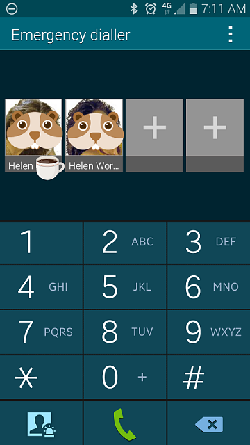 Emergency call from lock screen other uses - Android Forums at