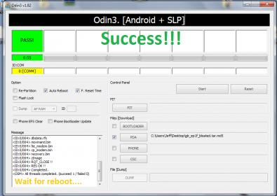 [GUIDE] How To Root Galaxy S5 : mobilecrackers-success.jpg