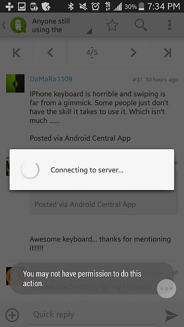 Anyone having problems using the Android central forum app on their s5?-1400112399808.jpg