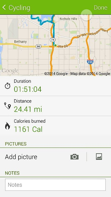 S Health cycling off by 5 miles!!!-screenshot_2014-06-24-07-21-30.jpg