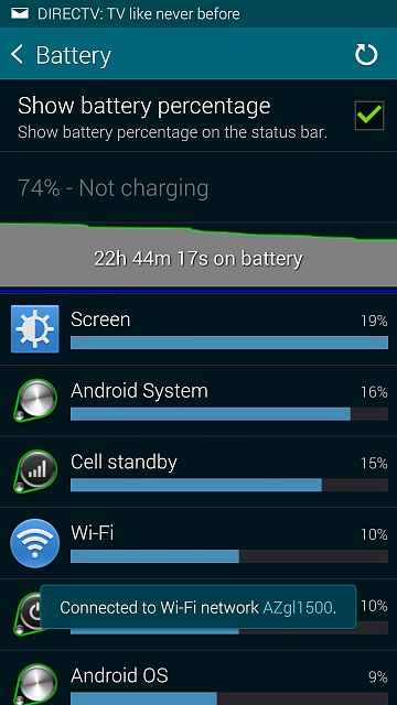 Why is my battery life so bad on Galaxy S5? - Android Forums at