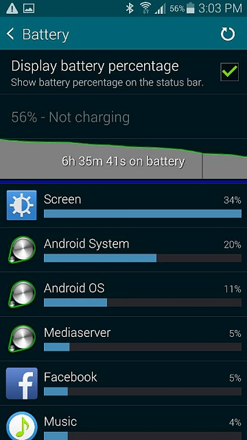 My Galaxy S5 battery life is poor-1413061474808.jpg