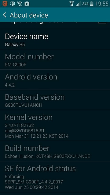 how to get lte setting in galaxy s5