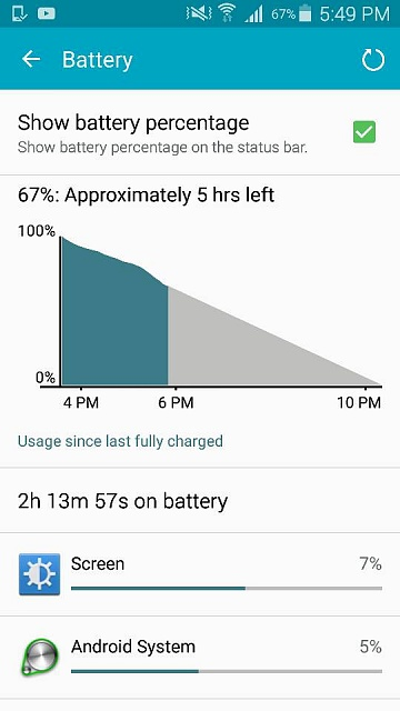 Switched to Android, does my battery look healthy? Please help-1446765339772.jpg