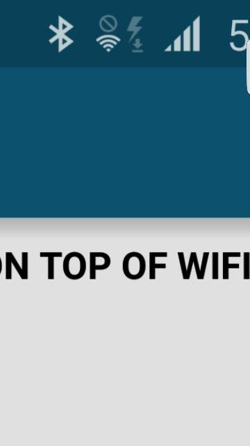 circle with line through it on top of wifi symbol ...