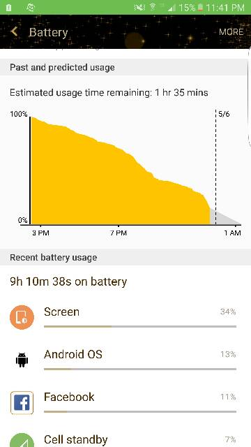 Can't figure out the sudden change in battery life on my ...