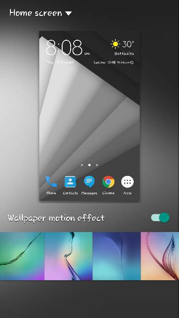 Wallpaper Motion Effect Issue Android Forums At Androidcentral Com