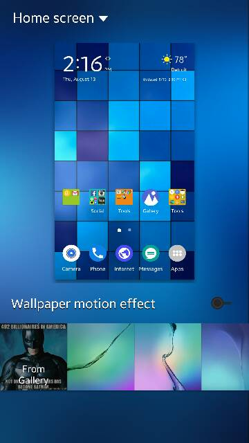Wallpaper Motion Effect Issue Android Forums At