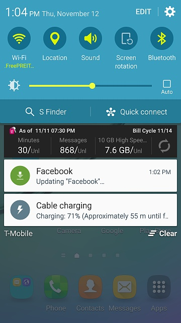 Help my Galaxy S6 Edge is not showing MTP/PTP and also fast charging isn't working?-screenshot_2015-11-12-13-04-56.jpg