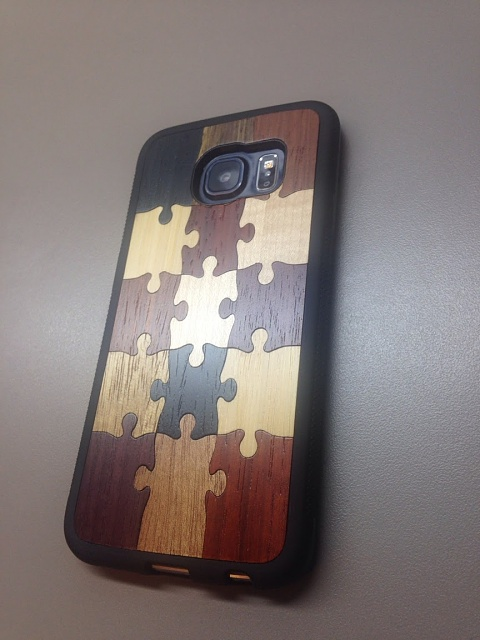 """Review of real wood case, Carved """"Random Puzzle"""" Traveler case-casewphone.jpg"""