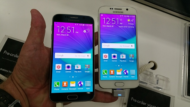 """Give me your opinion on the """"White Pearl"""" Galaxy S6-20150330_125123.jpg"""