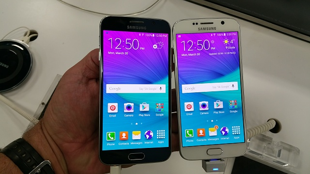"""Give me your opinion on the """"White Pearl"""" Galaxy S6-20150330_125047.jpg"""