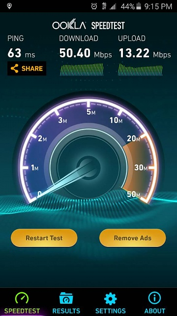 What speeds are you getting on your galaxy s6?-1428545896373.jpg
